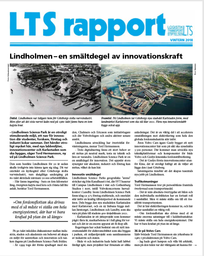 LTS Rapport 3 2018